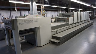 2006 Komori LS640 CX Offset Press 单张纸胶印机