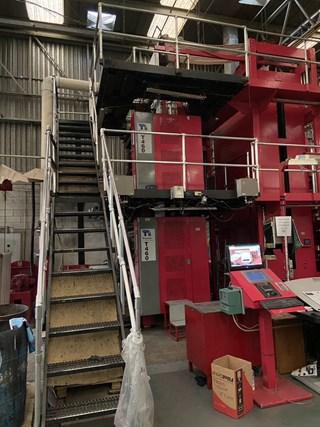 """2012 Tensor T460 Heat Set Web Press  578mm / 22.75"""" Cutoff  Prensas Rotativas Comerciales"""