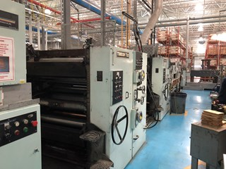 "1991 Timson T32 Two Color Web Offset Press 952.5 mm / 37.5"" Heatset"