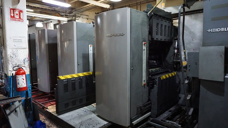 "2001 M600A (5) Unit (1) Web Press with JF44 Folder 578mm / 22.75"" cutoff"