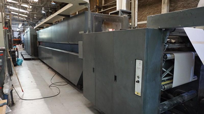 """2005 Goss M600A (4) Unit (1) Web Press System 578mm / 22.75"""" cutoff"""