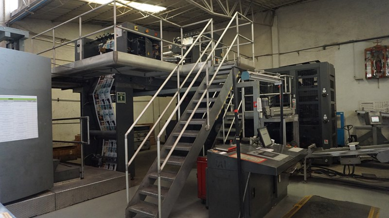 "2008 Goss M800 (4) Unit (1) Web Press System 1156mm / 45.5"" cutoff"