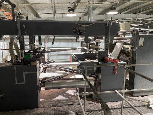 "2001 Heidelberg M600 B24 (8) Unit Duplexed Web Press 578mm / 22.75"" cutoff"