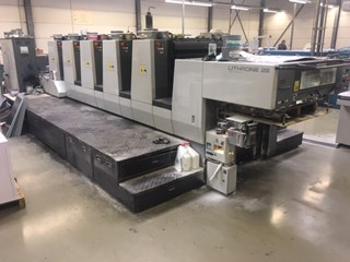 Komori Lithrone L528 Sheet Fed