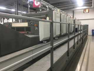 Komori LS-840-P + Coater - HUV Sheet Fed