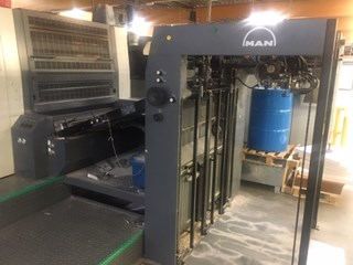 Manroland R 702-3B + LV 单张纸胶印机