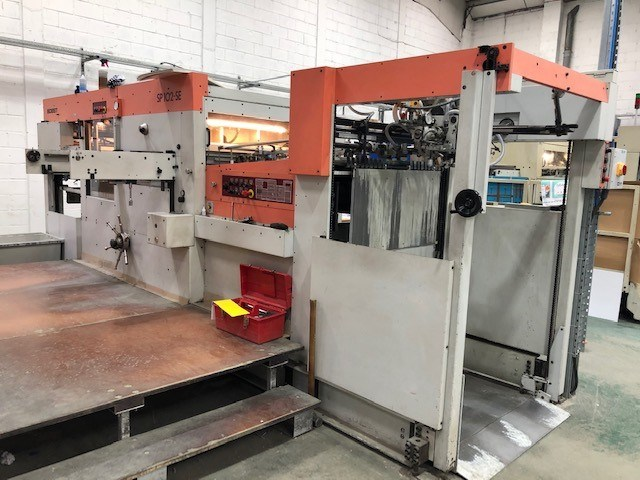 Show details for Bobst Bobst SP 102 SE