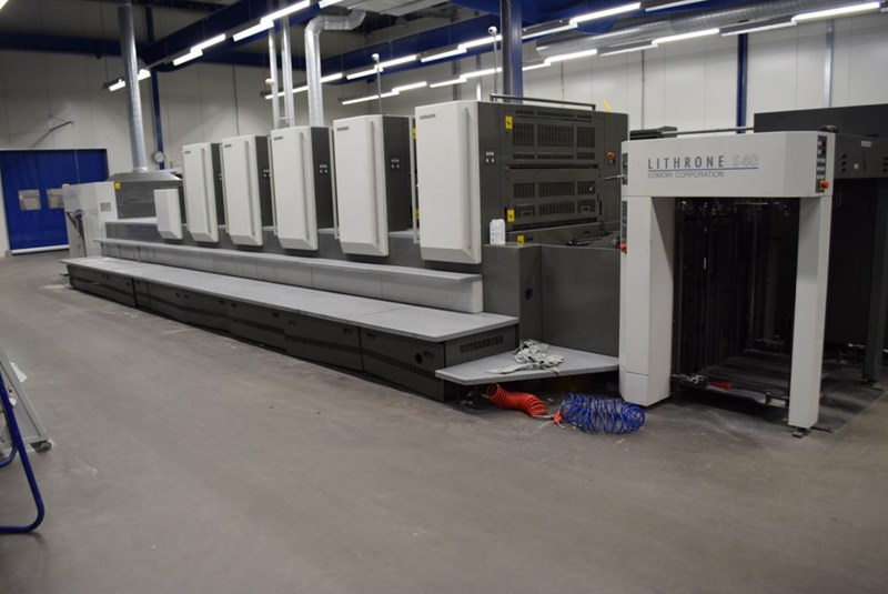 Show details for Komori LS-540 + CX