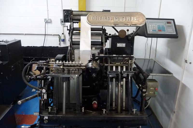 Show details for Heidelberg T - with B&H Electronic Foil Attachment