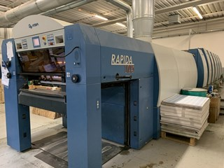 2006 KBA RAPIDA 105-6+L CX +UV Sheet Fed