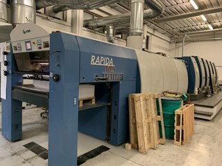 2007 KBA RAPIDA 105-5+L CX + UV Sheet Fed