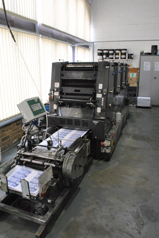Heidelberg GTO 46 VP Sheet Fed