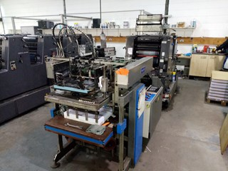 Heidelberg GTO 46 ZP Sheet Fed