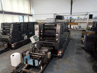 Heidelberg GTO 52 VP Sheet Fed