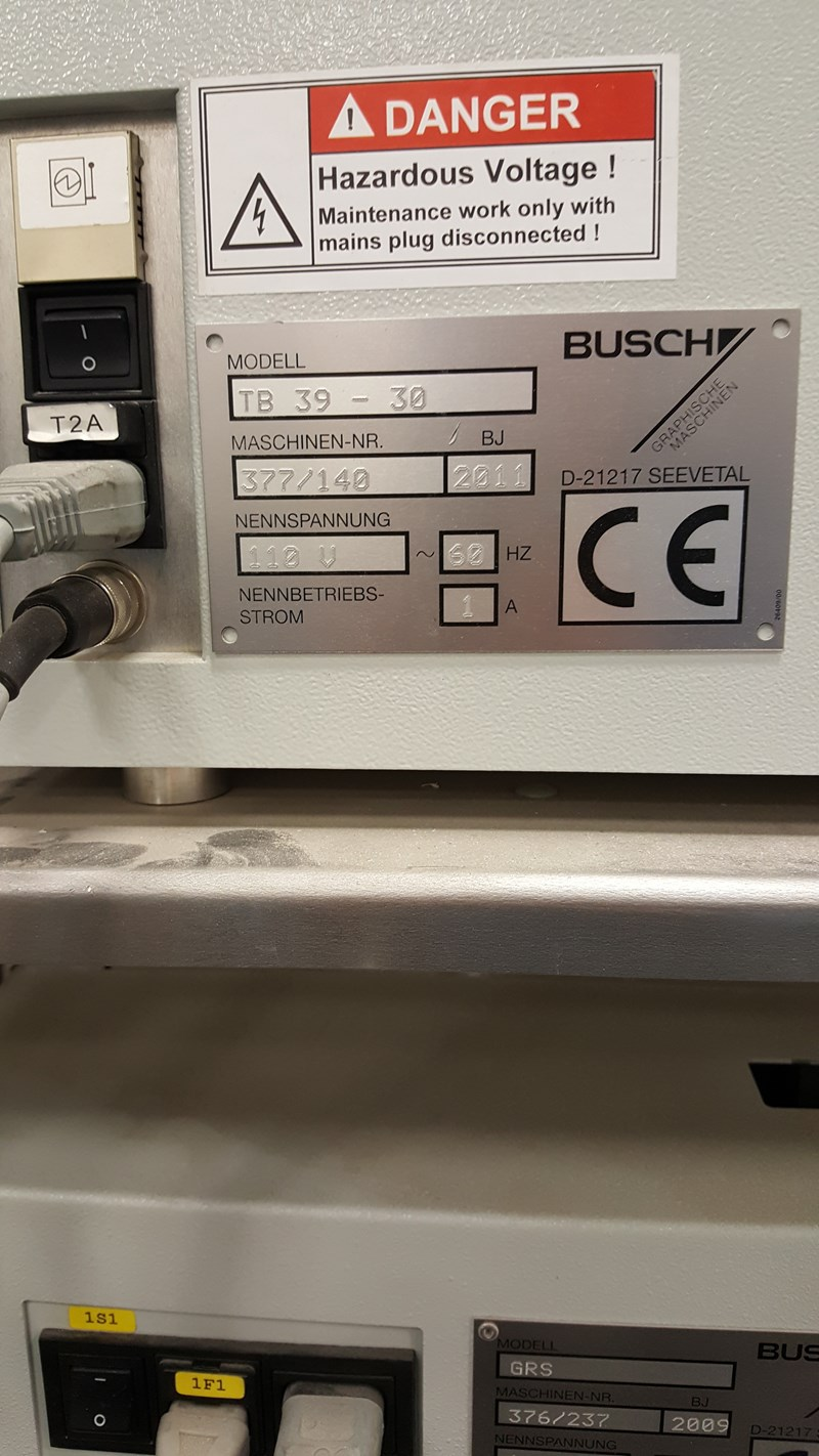 2011  Busch TB 39 - 30