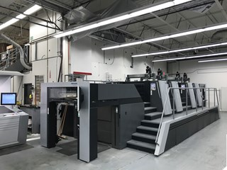 2017 Heidelberg XL 106-4P 2/2 Almost New Very low impressions Gebrauchte Bogenoffsetmaschinen
