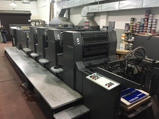 1998 Heidelberg SM 74 4+L Sheet Fed