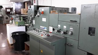 Offset Muller Martini Pronto continuous forms press Labels and Forms