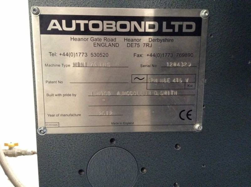 Autobond Mini TPHS 105