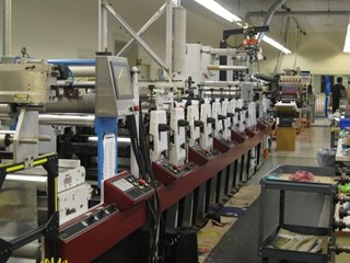 2003 Mark Andy LP3000 17 + CTC Butt Splicer Flexo
