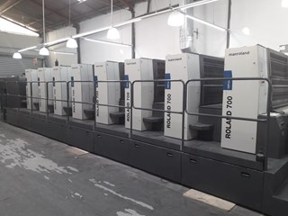 Manroland 700 P 8/0-4/4 Sheet Fed