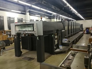 Heidelberg SM 102-8-P with CutStar 105/108(Optional) Sheet Fed