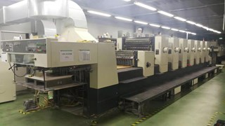 Komori L-740+C Sheet Fed