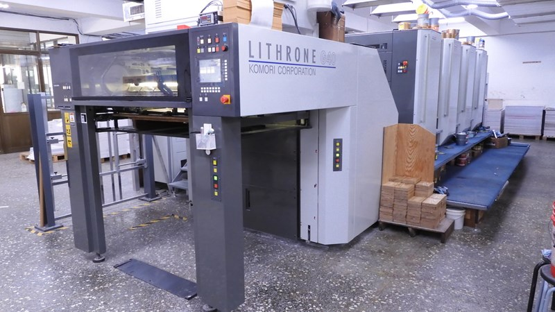 Show details for Komori GL-440