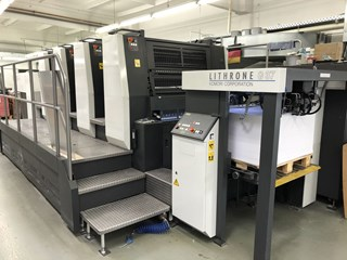 Komori Lithrone GL 437 Sheet Fed