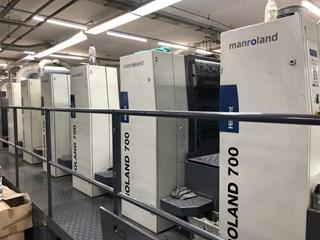 Man Roland R 705 PLV HiPrint 单张纸胶印机