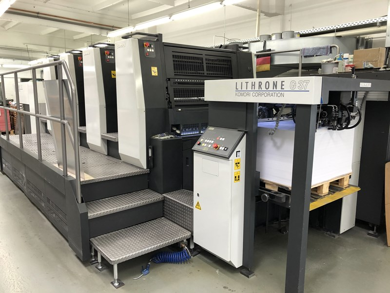 Show details for Komori Lithrone GL 437