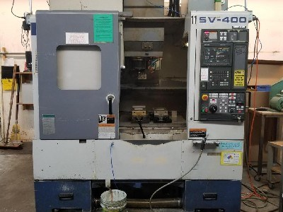 Show details for 11070, Mori-Seiki SV-400 vertical machining center, 1998