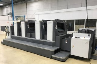 2005 Shinohara 75 IV HP Sheet Fed