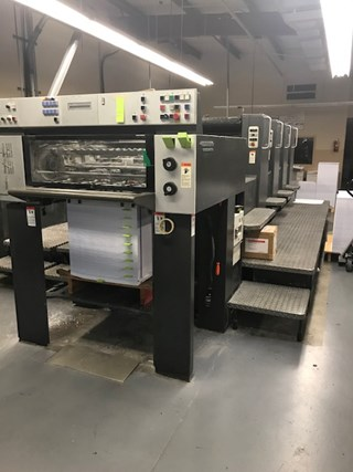 1997 Heidelberg SM 74-P Sheet Fed