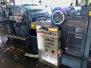 Bobst SP 900 Die Cutting