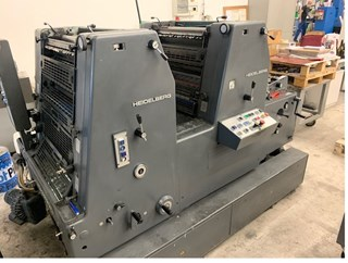 Heidelberg GTOZ 52 Alcolor Sheet Fed