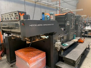 Heidelberg SM 102 Z Sheet Fed
