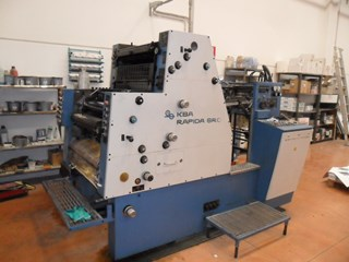 KBA Rapida 72-2 K Sheet Fed