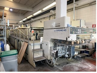 Komori Lithrone L 640 + coater Sheet Fed