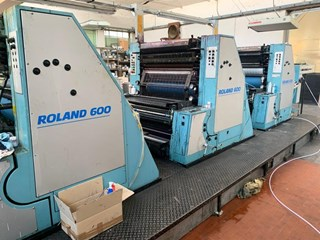 Manroland 605 + L Sheet Fed