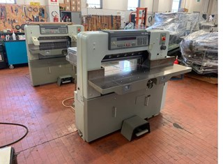 Two Polar 76 EM Guillotines/Cutters