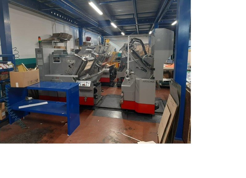 Show details for Guangya TL 780 Hot foiling and die cutting