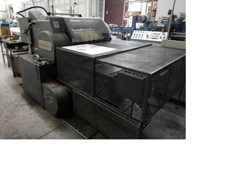 Heidelberg Cylinder S + FTP  Hot foil system