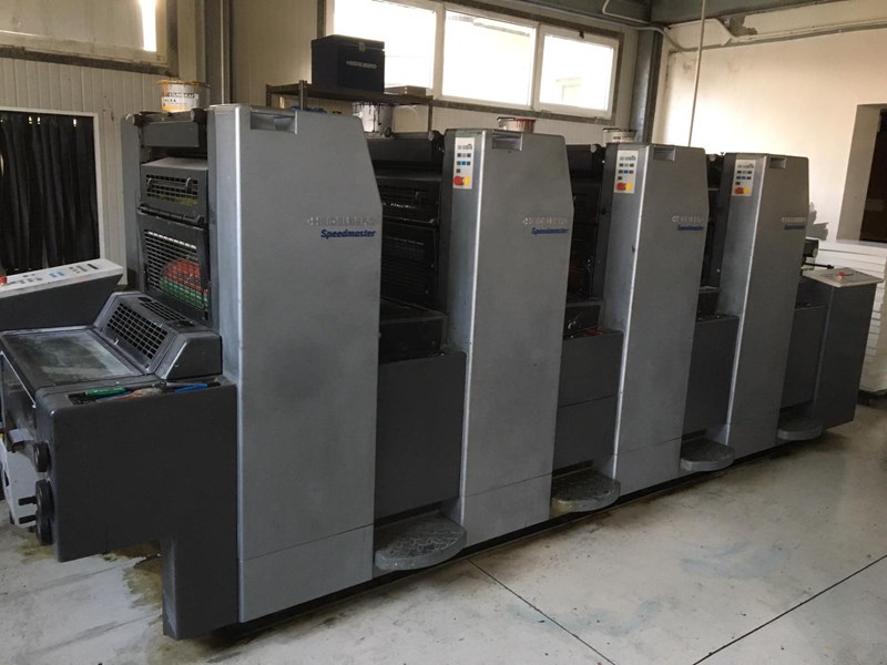 Show details for Heidelberg SM 52-4 P year 2000