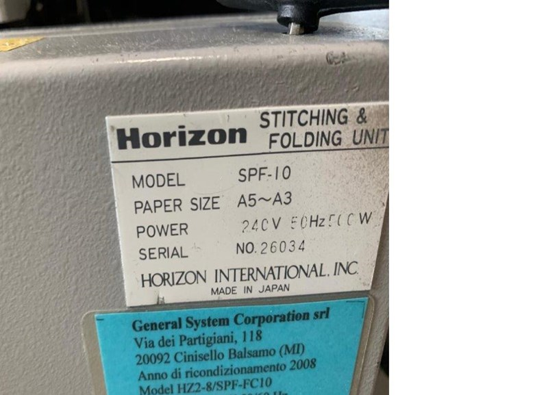 Horizon MC-8a/  MC-8m/ SPF-10/ FC-10