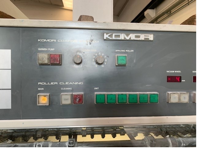 Komori Lithrone L 640 + coater