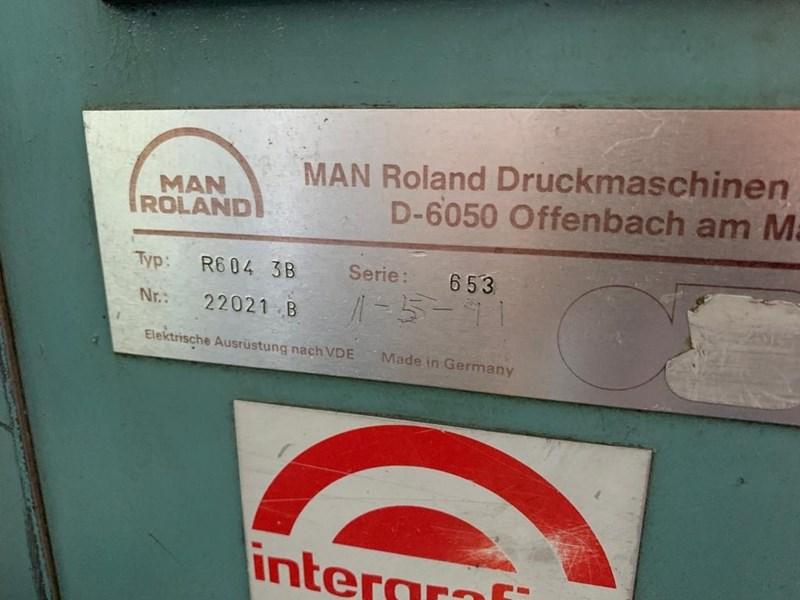 Manroland 604 + L