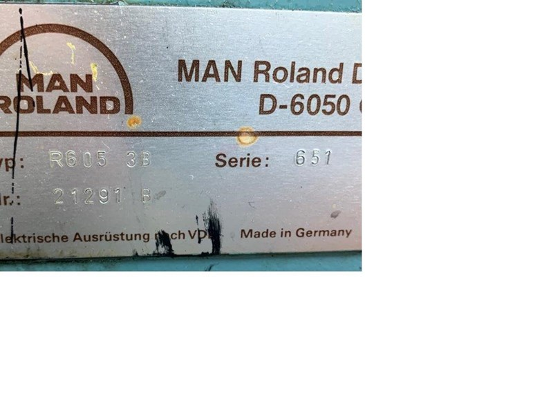 Manroland 605 + L