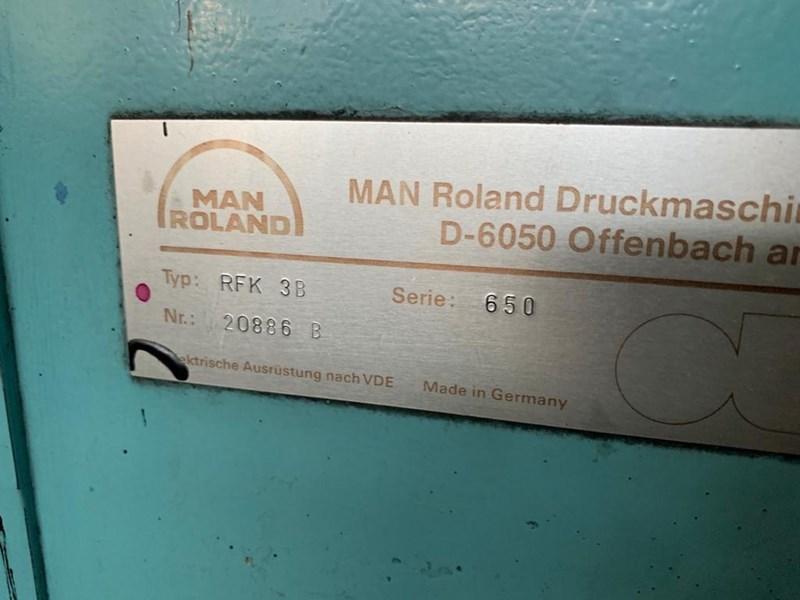 Manroland Rekord RFK 3 B + L