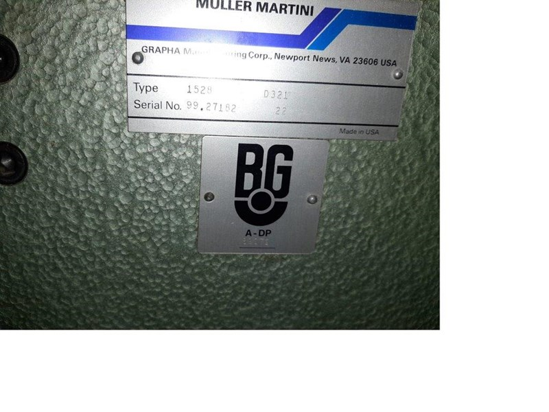 Müller Martini 1509